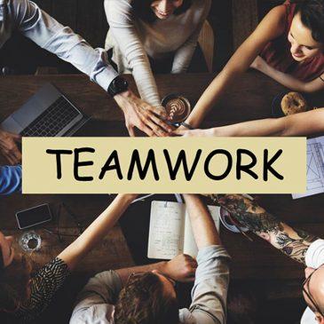 Leichter Arbeiten – im Team- Teamarbeit